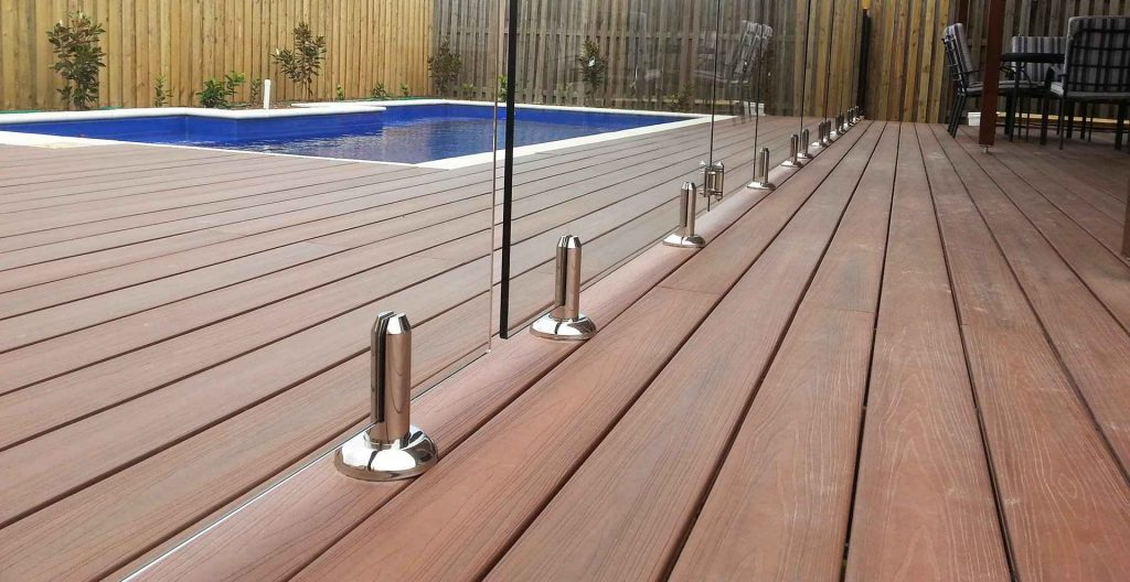 glass fencing frameless style